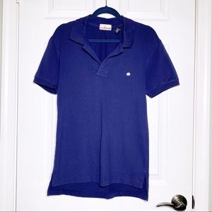 Cotton Brothers Navy Blue Polo